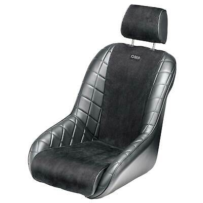 OMP Brands Hatch Synthetic Leather/Velour Car Seat