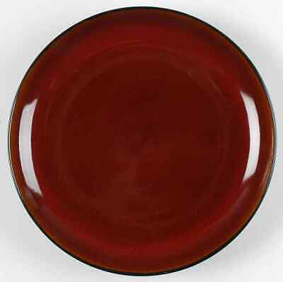 Gibson Designs ANTICA ROMA-RED Dinner Plate 7681276