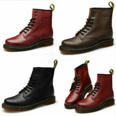 AU Dr. Martens Unisex 1460 8 Lace Up Leather Boots Shoes Martins Men Women Shoes