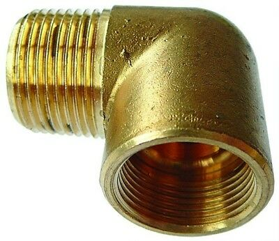 "CILM12/12 ITM Brass Male Elbow Adaptor Tube O/D 3/4"" x BSPT male Thread 3/4"""