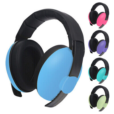 Durable Ear Hearing Protection Sleep Noise Cancelling Baby Earmuffs Slow Rebound