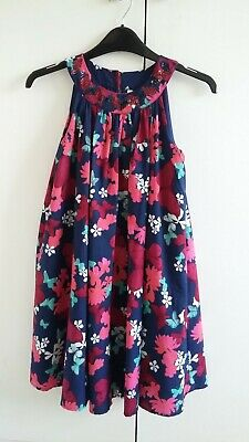 Girls Marks and Spencer lined dress size 8-9 years great used condition