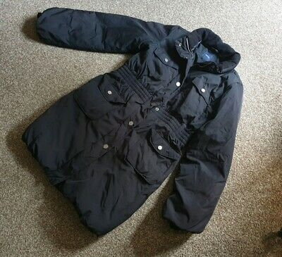 GAP Down Feather thick padded black girls coat 13 years RRP £95
