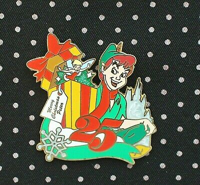 Disney Pin PETER PAN Mickey's Very Merry Christmas Party 2008 Limited Edition LE