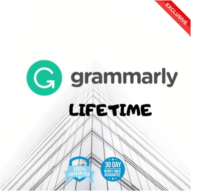 Grammarly Premium Account LIFETIME