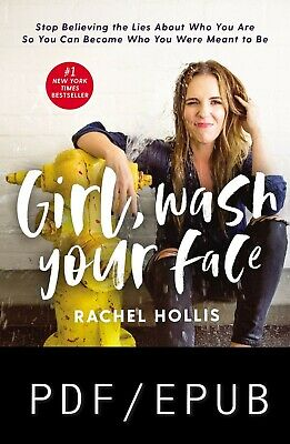 Girl Wash Your Face by Rachel Hollis 🔥 Fast delivery 🔥
