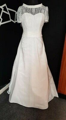 Ivory Wedding Gown  size 16, Hilary Morgan,  NWT