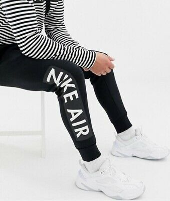 Bnwt Tn Just Do It Fleece Black Nike Air Max Bottoms Joggers Men