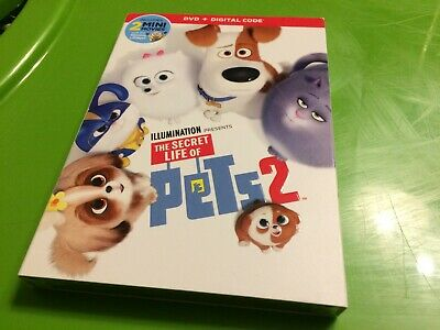 THE SECRET LIFE OF PETS 2 DVD + DIGITAL Code Brand New Sealed USA FREE SHIPPING