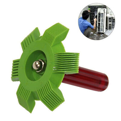 6 IN 1 Air Conditioner Radiator Condenser Fin A/C Straightener Comb Cleaner Tool