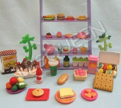 Littlest Pet Shop Lot 10 Random Sweets Food Cup Cake Accessories BUY3 1 FREE