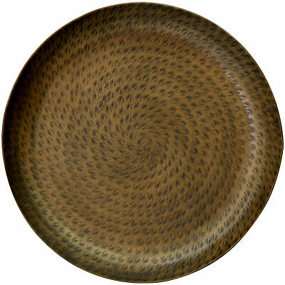 NEW Brass Hammered Metal Tray - Capeview Interiors,Kitchen & Butler Trays