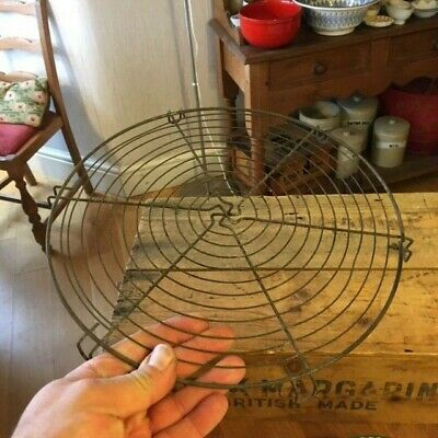 Vintage Round Wirework Cooling Rack / Wire with Feet – Kitchenalia! –