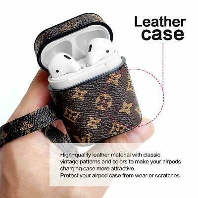 Airpods Case Cover protective Leather Cover for Apple AirPods Accessories Earpod