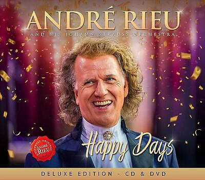 ANDRE RIEU HAPPY DAYS CD & DVD (New Release November 22nd 2019)