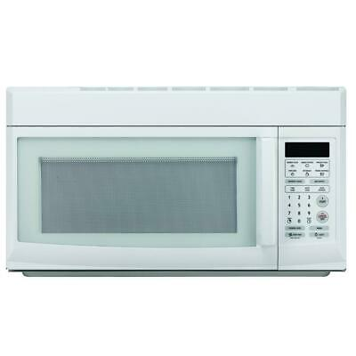 1.6 cu. ft. White Microwave Magic Chef Over the Range 1000W Safety Lock Kitchen