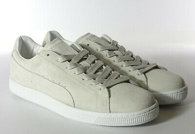 PUMA SUEDE CLASSIC Trainers Peacoat Navy White (Size 10