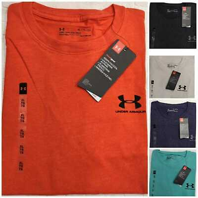 Under Armour Men's T Shirt Short Sleeve Casual Gym Sports Christmas Sale RRP £40