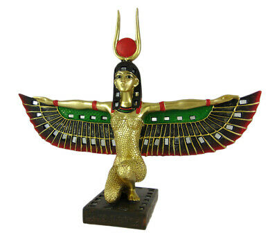 Zeckos Winged Isis Egyptian Goddess Statue Deity Mythology