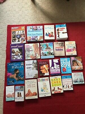 22 Book Bundle Babies Toddlers What To Expect Water Babies Swim Annabel Karmel