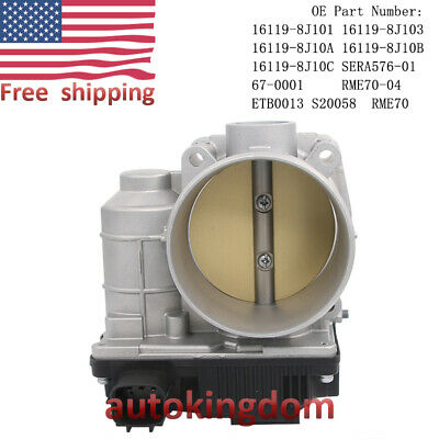 Throttle Body 161198J103 Fit for Nisssan Maxima Quest Infiniti FX35 G35 S20058