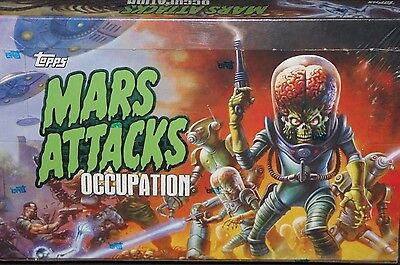 2016 Topps Mars Attacks Occupation exclusive sealed 24 pk hobby box sketch rare