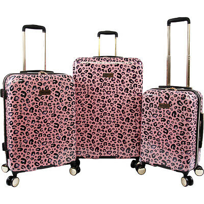 Juicy Couture Jane 3 Piece Hardside Spinner Luggage Set