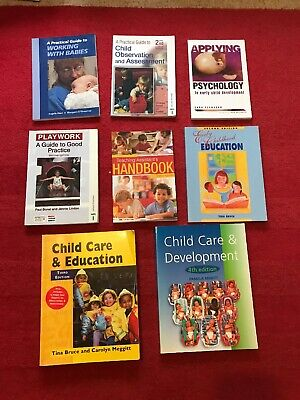 8 Book Bundle Observing Children Development Teacher Assistant Childmind School