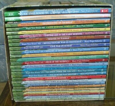 Lot of 28 MAGIC TREE HOUSE + MISSIONS children CHAPTER BOOK Mary Pope Osborne