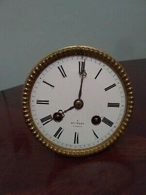 French Silk Suspension Movement with Dial, Hands, Pendulum, Bezel.