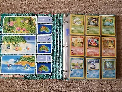 Pokemon COMPLETE Set of ORIGINAL 151//150 Cards Contains Base, Jungle, Fossil Ca