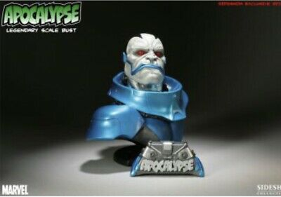 Apocalypse Exclusive Legendary Scale Bust Statue Sideshow Brand New In Box