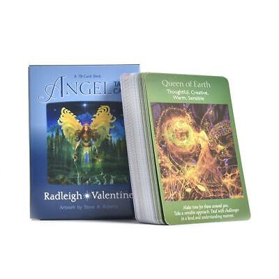 78pcs Tarot Card Angel Magic Deck Cards Playing Future Telling Divination Game