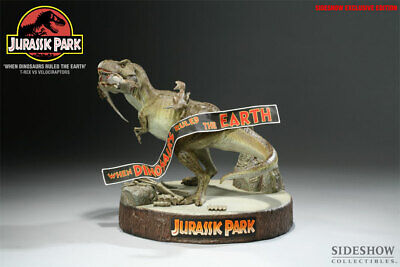 Jurassic Park When Dinosaurs Ruled The Earth Exclusive Diorama Sideshow # 3