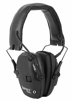 Ear Muffs Howard Leight Impact® Sport Electronic Earmuff Black R02524