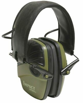 Ear Muffs Howard Leight Impact® Sport Electronic Earmuff OD Green 1013530