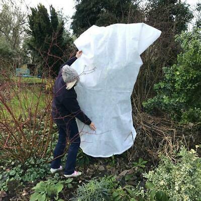 2pcs Frost Plant Protection Bag Winter Cover Plant Garden Shrubs Pouch White