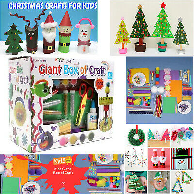 1000 Pieces Arts and Crafts Giant Box Set Kit Children Kids GIFT Boys Girls Toys