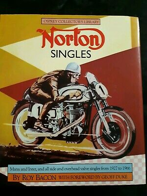Osprey Collectors Library Norton Singles By Roy Bacon