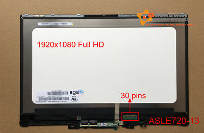 """13.3"""" lcd Touch Screen Assembly for Lenovo Yoga 720-13ikb Full hd 1920X1080"""
