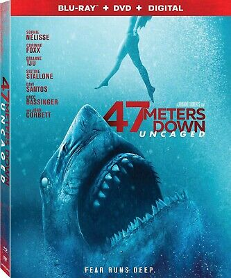47 Meters Down: Uncaged (No Disc Included, with this listing 2019Code)