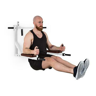 Barre de Traction Dips Station Multifonction Fitness Musculation Fixation 200kg