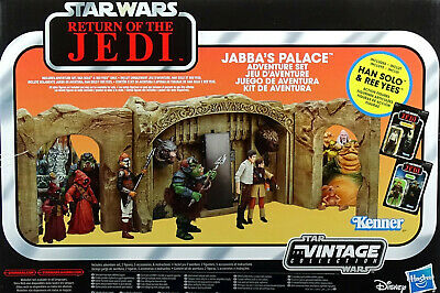 "STAR WARS ""ROTJ"" JABBA`s PALACE (OHNE FIGUREN !!) THE VINTAGE COLLECTION HASBRO"