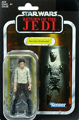 "Han Solo Carbonite ""Rotj"" Vc136 Star Wars The Vintage Collection 2019 Hasbro"