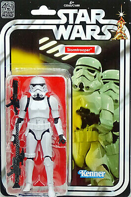 "STAR WARS 40th ANNIVERSARY COLLECTION IMPERIAL STORMTROOPER 6"" INCH VON HASBRO"