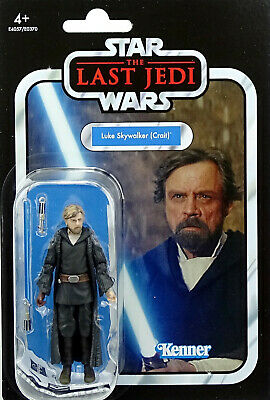 Luke Skywalker Crait Vc146 The Last Jedi Star Wars The Vintage Collection Hasbro