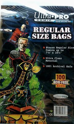 Ultra Pro Comic Bags Regular Size (100 Stück)