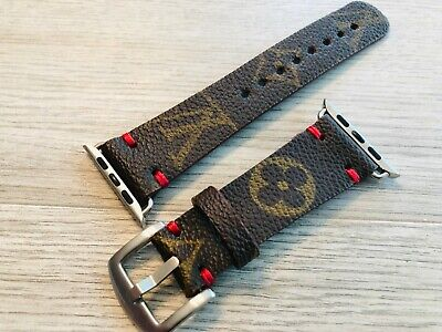 Handmade Apple watch band, Series 1-2-3-4-5, Leather watch band 38/40mm, 42/44mm