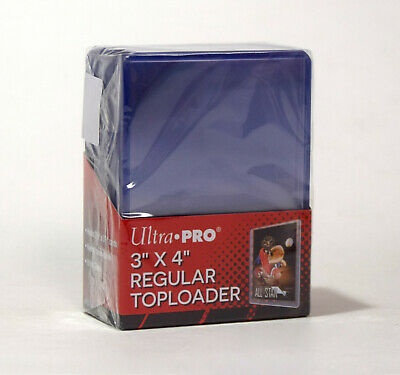 NEW Ultra Pro 25 Count Clear Rigid Toploader Card Sleeves Sports Magic MTG 81222