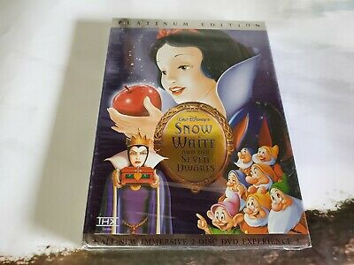 Snow White and the Seven Dwarfs DVD (2001) Special Edition Disney Clearance New
